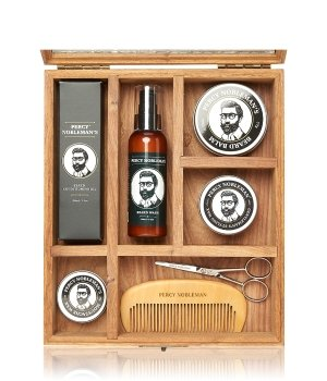Percy Nobleman Gentlemans Beard Grooming Ultimate Beard Grooming Box Bartpflegeset für Herren