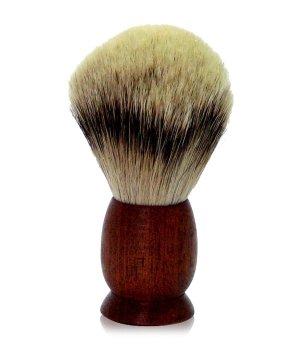 Golddachs Zedernholz Silberspitzen Rasierpinsel für Herren