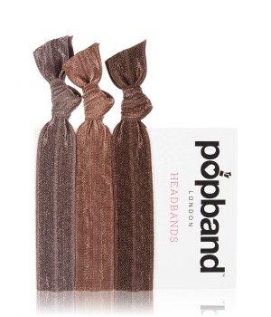 Popband London Headbands Brown Haarband für Damen