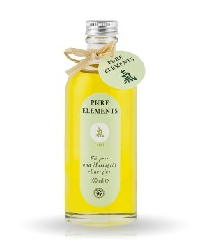 Pure Elements grüne Serie  Körperöl für Damen