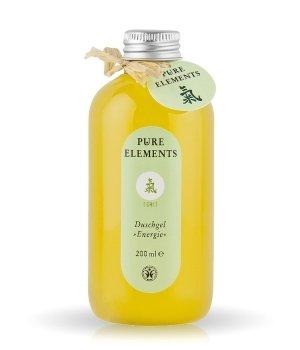 Pure Elements grüne Serie  Duschgel für Damen