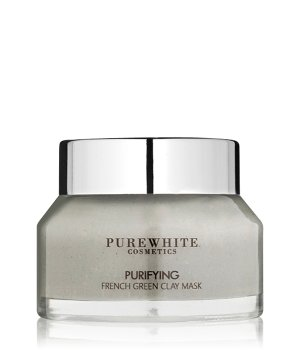Pure White Cosmetics Purifying French Green  Gesichtsmaske