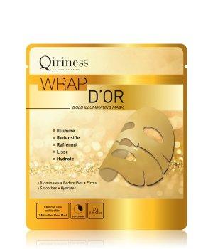QIRINESS Wrap d'Or  Gold Illuminating Mask Tuchmaske für Damen