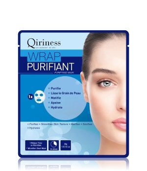 QIRINESS Wrap Purifiant  Purifying Mask Tuchmaske für Damen
