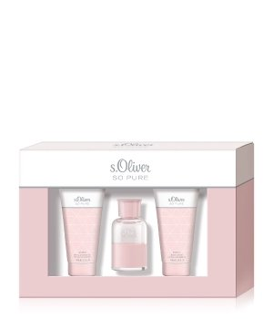 s.Oliver So Pure Women Duftset 1 Stk 30ml EDT Body Lotion Shower Gel