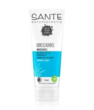 Sante Bio-Aloe Vera & Chiasamen Erfrischendes Waschgel Reinigungsgel für Herren