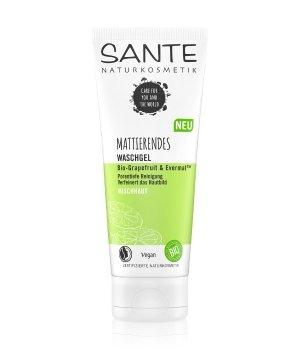Sante Bio-Grapefruit & Evermat Mattierendes Waschgel Reinigungsgel für Herren