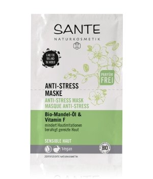 Sante Bio-Mandel-Öl & Vitamin F  Gesichtsmaske für Damen