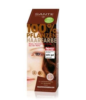 Sante Pflanzen Pulver Maronenbraun Haarfarbe für Damen und Herren