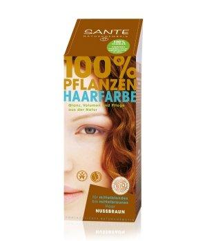 Sante Pflanzen Pulver nussbraun Haarfarbe für Damen und Herren