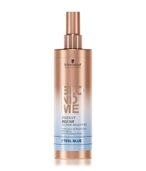 Schwarzkopf BlondMe Instant Blush Stahlblau Haarfarbe für Damen