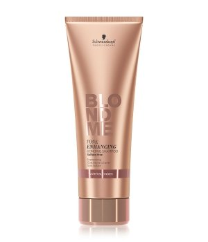 Schwarzkopf BlondMe Tone Enhancing Bonding Shampoo Warm Blondes Haarshampoo für Damen