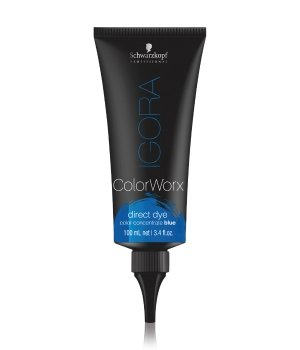 Schwarzkopf Igora Color Worx Blau Haarfarbe für Damen und Herren
