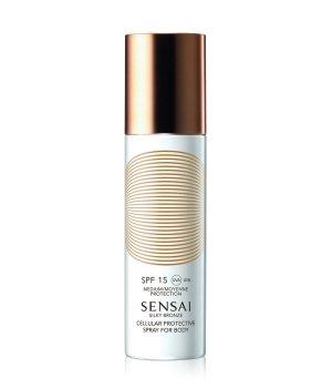 Sensai Silky Bronze Cellular Protective Body SPF 15 Sonnencreme für Damen