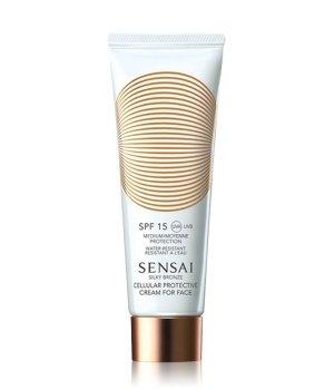 Sensai Silky Bronze Cellular Protective Face SPF 15 Sonnencreme für Damen