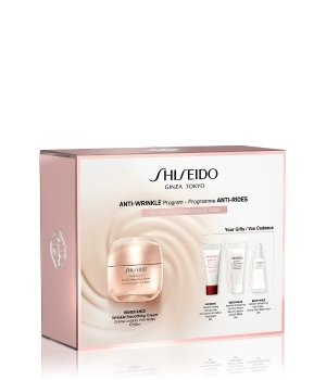 Shiseido Benefiance Wrinkle Smoothing Cream Set Gesichtspflegeset für Damen