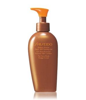 Shiseido Sun Care Brilliant Bronze Quick Self-Tanning Gel Selbstbräunungsgel für Damen und Herren