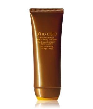 Shiseido Sun Care Brilliant Bronze Self-Tanning Emulsion Selbstbräunungslotion für Damen und Herren