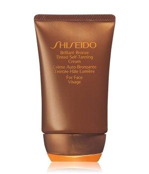 Shiseido Sun Care Brilliant Bronze Tinted Self-Tanning Cream (Medium Tan) Selbstbräunungscreme für Damen und Herren