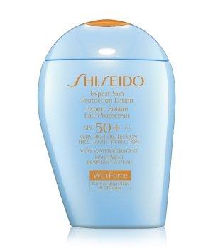 Shiseido Sun Care Expert Sun Protection Lotion WetForce SPF50+ For Sensitive Skin & Children Sonnenlotion für Damen und Herren