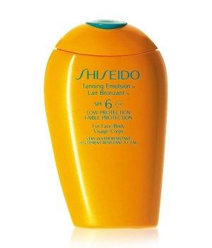 Shiseido Sun Care Tanning Emulsion N SPF 6 Sonnenlotion für Damen und Herren