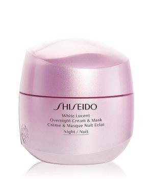 Shiseido White Lucent Overnight Cream & Mask Gesichtsmaske für Damen