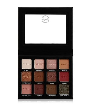 Sigma Beauty Warm Neutrals  Lidschatten Palette für Damen