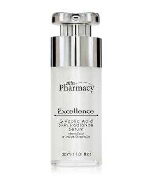 Skin Pharmacy Glycolic Acid Skin Radiance Excellence Gesichtsserum für Damen und Herren