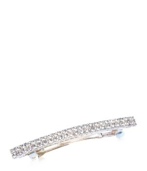 Solida L´eganza Glamour 5 x 65 Kristall Silber Haarspangen für Damen