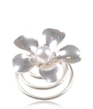 Solida y.e.s. Haarspirale mit Blüte Elfenbein Haarschmuck für Damen