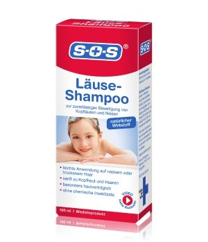 SOS Läuse-Shampoo  Haarshampoo für Damen