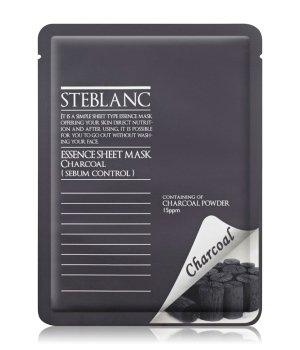 Steblanc Essence Sheet Mask Charcoal Tuchmaske für Damen und Herren