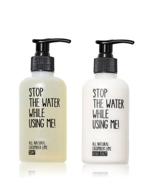 Stop The Water While Using Me Cucumber Lime  Handpflegeset für Damen und Herren