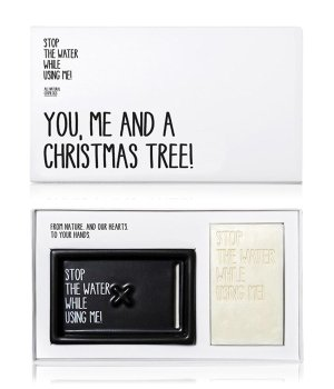 Stop The Water While Using Me Cucumber Lime Kit Christmas Edition Handpflegeset für Damen und Herren