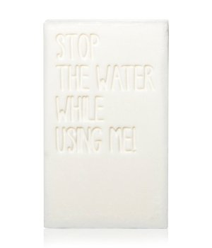 STOP THE WATER WHILE USING ME!  STOP THE WATER WHILE USING ME! Cucumber Lime Bar Soap Seife