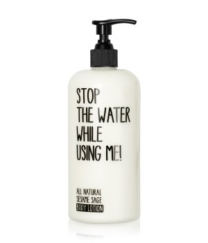 Stop The Water While Using Me Sesame Sage  Bodylotion