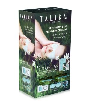 Talika Special Care Eye Decompress Dispenser Augenmaske für Damen und Herren