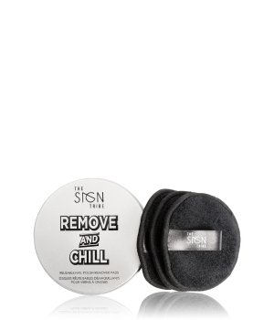The Sign Tribe Remove And Chill Reusable Nail Polish Remover Pads Nagellackentferner für Damen
