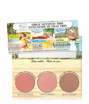 theBalm Girls' Getaway Trio  Rouge für Damen