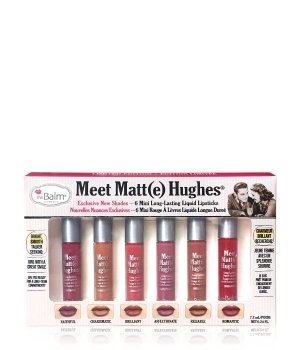 theBalm Meet Matt(e) Hughes Mini Kit Lippen Make-up Set Vol. 2