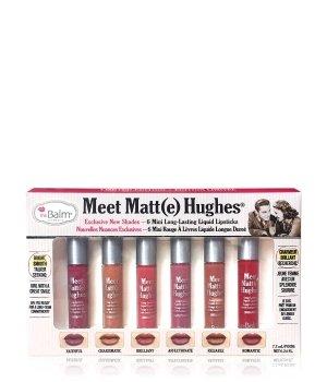 theBalm Meet Matt(e) Hughes Mini Kit Lippen Make-up Set für Damen