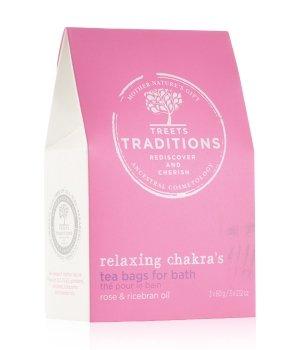 Treets Relaxing Chakra's Bath Tea Badesalz für Damen und Herren