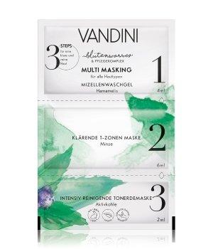 VANDINI Blütenwasser Multi Masking Gesichtsmaske für Damen