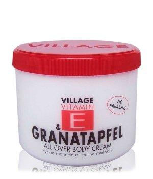 Village Vitamin E Granatapfel Körpercreme für Damen und Herren