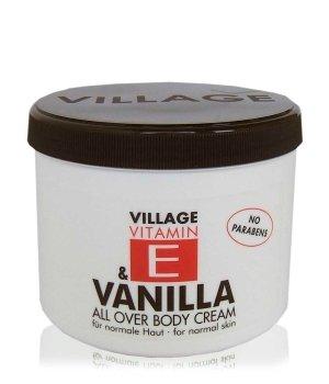 Village Vitamin E Vanilla Körpercreme für Damen und Herren