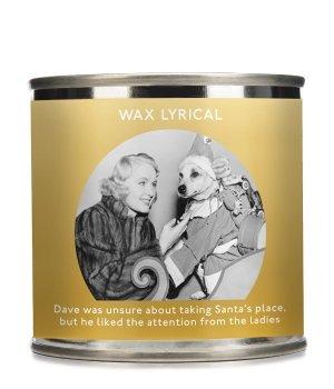 Wax Lyrical Enter-Tin-Ment Candle Tin Santa Dog Duftkerze für Damen und Herren