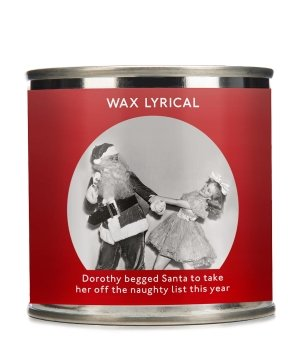 Wax Lyrical Enter-Tin-Ment Candle Tin Santa Duftkerze für Damen und Herren