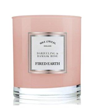 Wax Lyrical Fired Earth Darjeeling & Damask Rose Duftkerze für Damen und Herren