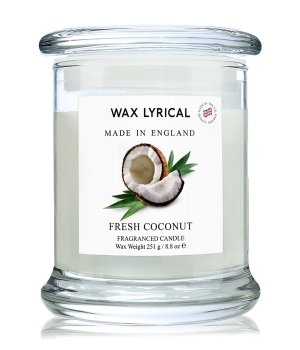Wax Lyrical Made In England Fresh Coconut Duftkerze für Damen und Herren
