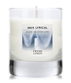 Wax Lyrical Made In England Fresh Linen Duftkerze für Damen und Herren